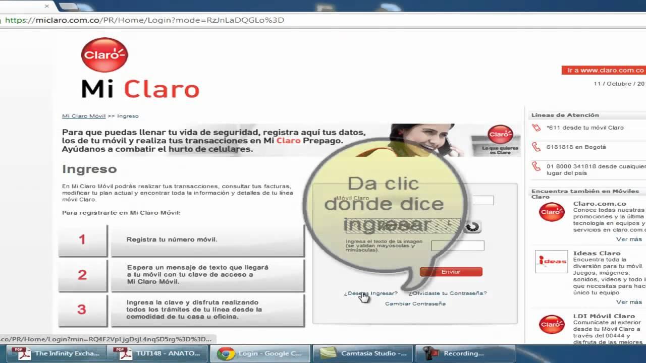 Registro De Celulares Claro Tutorial Para Registrar Su Equipo Celular En Claro Colombia Youtube
