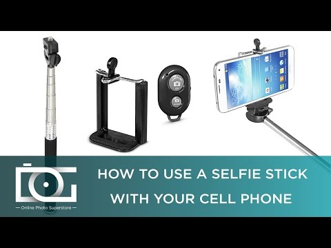 How To Use Selfie Stick for Android & IPhone With Bluetooth Remote | TUTORIAL
