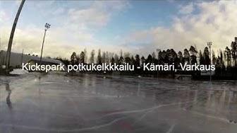 Kickspark potkukelkkailu, Kämärin tekojää, Varkaus