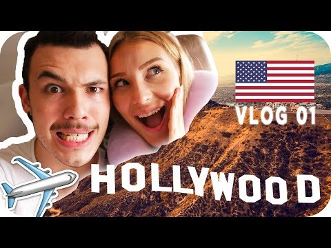 WIR FLIEGEN NACH LOS ANGELES 😳🇺🇸 - Daily Vlog #01 | AnaJohnson