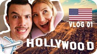 WIR FLIEGEN NACH LOS ANGELES 😳🇺🇸 - LOS ANGELES Daily Vlog #01 | AnaJohnson