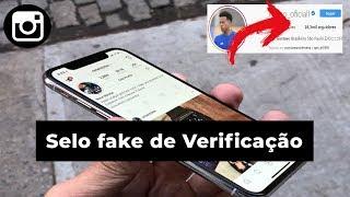 Como ter a verificação do Instagram Fake (2019)