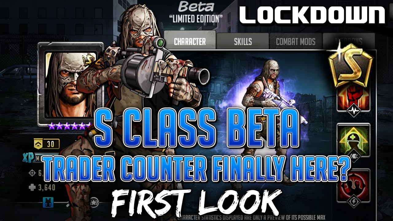 TWD RTS: S Class Beta, Trader Counter?! First Look - The Walking Dead: Road to Survival Leaks
