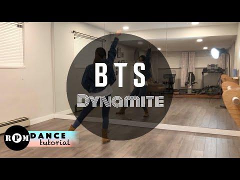 "BTS ""Dynamite"" Dance Tutorial (Chorus)"