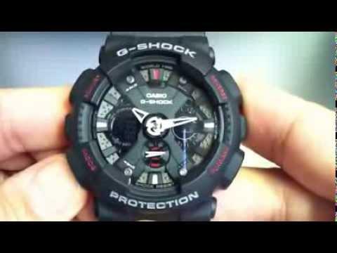 8581919f6e0 Relógio Casio G-Shock GA-120-1A - YouTube