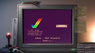 Amiga music: LMan - Mad Scientist (A1200 bx_🎧)