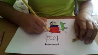 как нарисовать барта симпсона(, 2016-07-22T07:19:39.000Z)