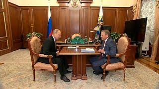 Рабочая встреча Владимира Путина от 12.07.21