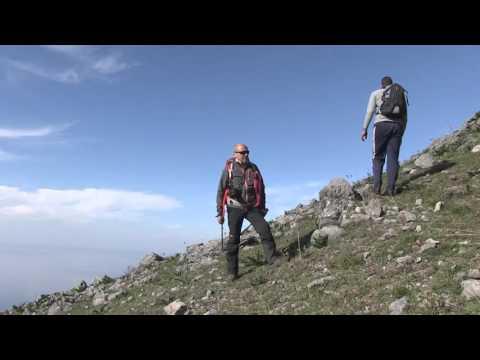 cresta sud ovest di Monte Barbaro con Francesco Bevilacqua 27.12.2015