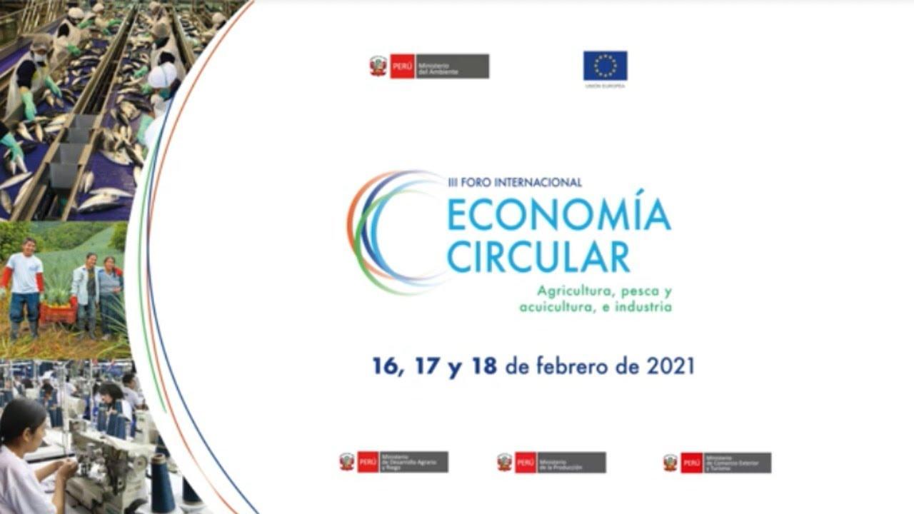 Resultado de imagen para III foro internacional de economía circular