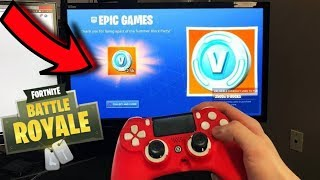 WIN NOW 1000 FREE V-BUCKS AT FORTNITE EASY AND FAST