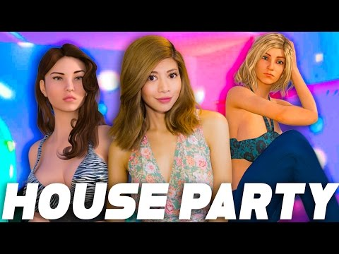THESE GIRLS DON'T WANT TO PARTY House Party pt. 1