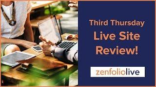 Third Thursday Live Site Review - Zenfolio Live E122 thumbnail