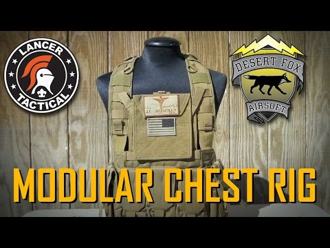 Lancer Tactical - CA-307 Modular Chest Rig Review