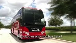 Inside RedCoach - Florida Luxury Buses