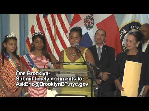 One Brooklyn- Dominican Parade and Festival 2015 Press Conference