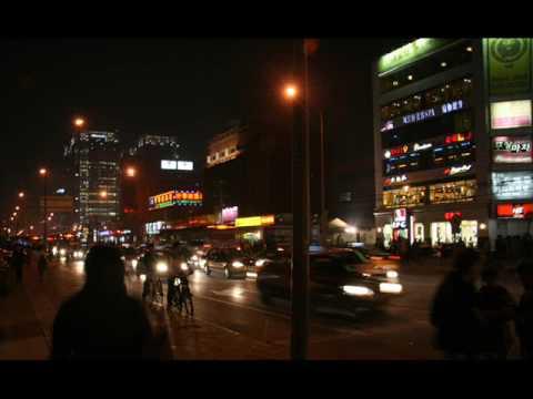 Beijing at night, China 北京,晚上,中国