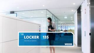 Locker management - hot lockers - office locker system for agile working - Vecos
