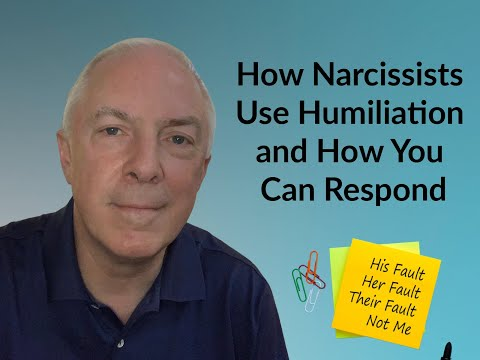 How Narcissists Use Humiliation And How You  Can Respond