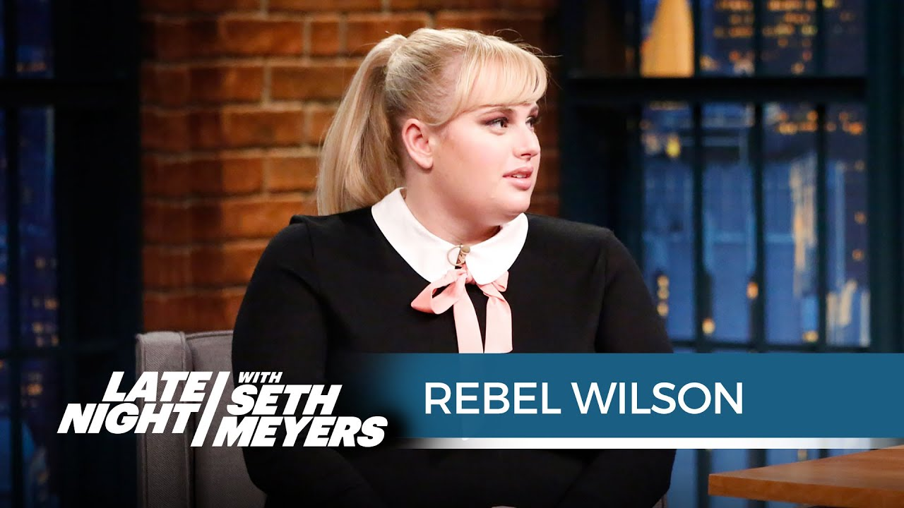 Rebel Wilson On Kissing How To Be Single Extras  Late Night With Seth  Meyers  Youtube