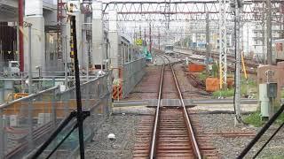 前面展望「西新井駅-谷塚駅」