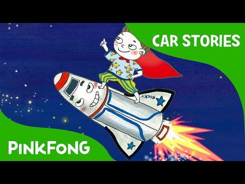 Rocky's Space Adventure! | Car Stories | PINKFONG Story Time for Children
