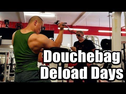 Douchebag Deload Days | Rest Before Max On Candito's Squat Program