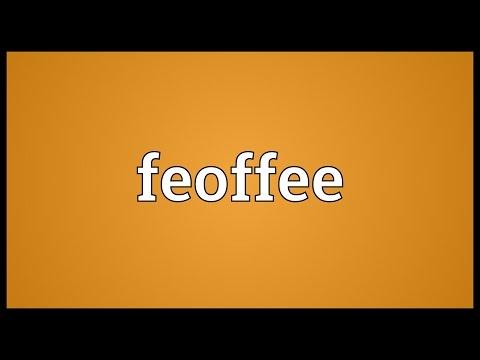 Header of feoffee