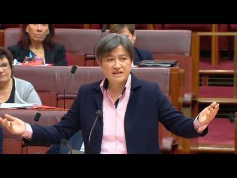 Penny Wong's speech in the senate at the reintroduction of plebiscite bill