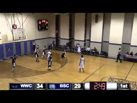 Men's Basketball at Barber-Scotia