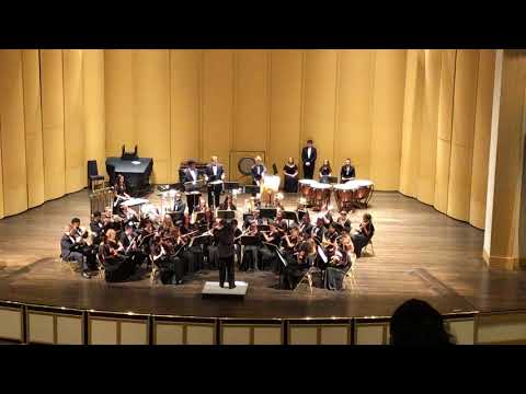 Dover High School Symphonic Band Virginia Beach Competition 4-7-17 #1