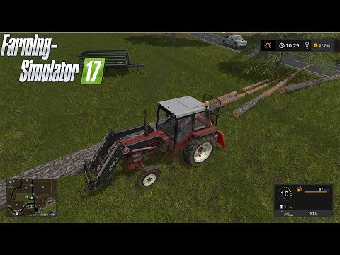 Farming simulator 2017 Timelapse ★ Forgotten valley ★ #2 ★ GAMEPLAY ★ Forestry time!