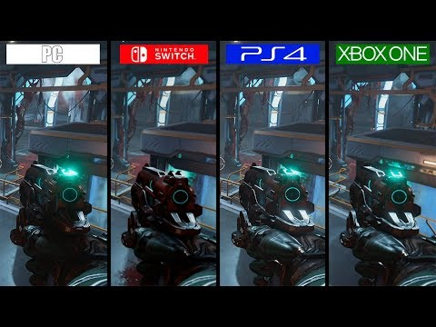 DOOM | Switch vs ONE vs PS4 vs PC | GRAPHICS COMPARISON | Comparativa