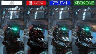 DOOM | Switch vs ONE vs PS4 vs PC | GRAPHICS COMPARISON | Comparativa