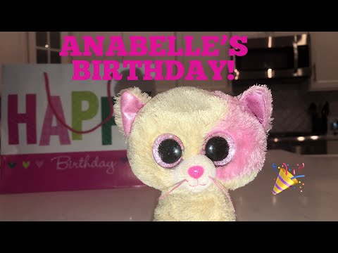 Beanie Boo's: Anabelle's Birthday!