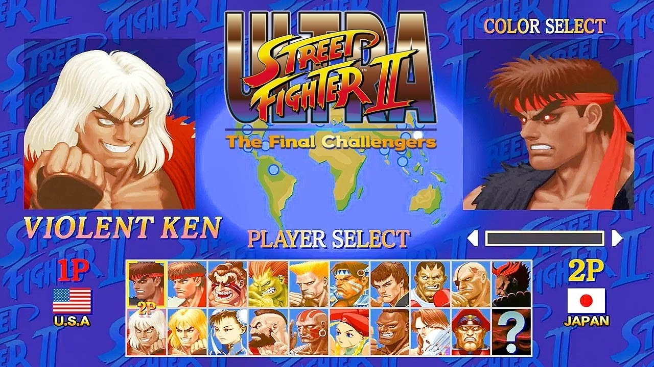 Nintendo Switch Ultra Street Fighter Ii The Final Challengers