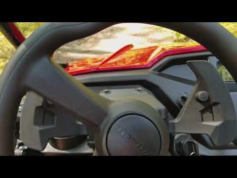 2017 Honda Pioneer 500 First Run and Shifting