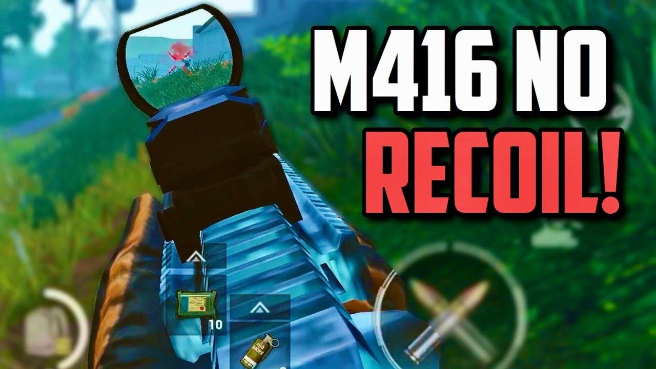 M416 NO RECOIL SPRAYS? (no hacks) | PUBG Mobile Solo vs Squad