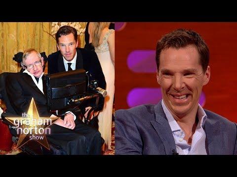 Benedict Cumberbatch Told Stephen Hawking Star Trek Spoilers  The Graham Norton