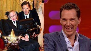 Benedict Cumberbatch Told Stephen Hawking Star Trek Spoilers | The Graham Norton Show