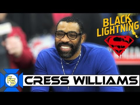 Cress Williams Black Lightning   dom Spotlite