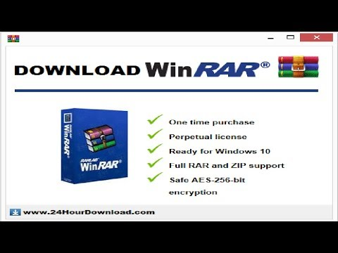 How To Download WINRAR FULL PROGRAM FREE!! [LICENSED][2019] FOR FREE