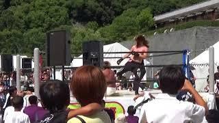 シバターvsライジングHAYATO | 愛媛プロレス参戦2日目【カメラアングル微妙】