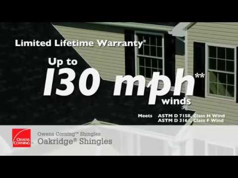 Owens Corning™ Roofing Video  The Inviting Beauty Of Owens Corning Oakridge Shingles