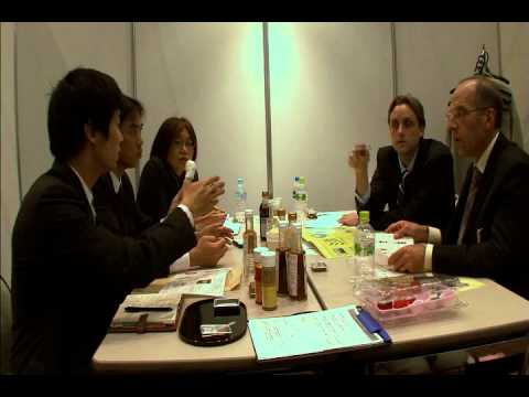 Japanese Food Suppliers Meet with Foreign Food Buyers
