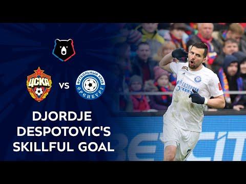 Djordje Despotovic's Skillful Kick against CSKA