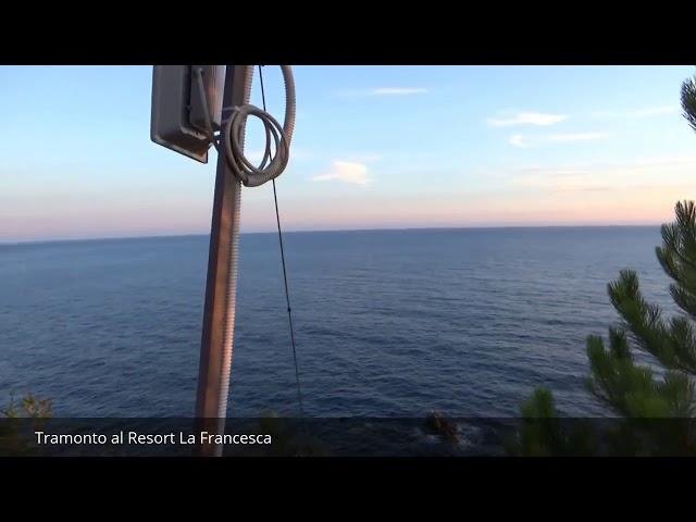 Tramonto  al Resort La Francesca - Bonassola -Liguria
