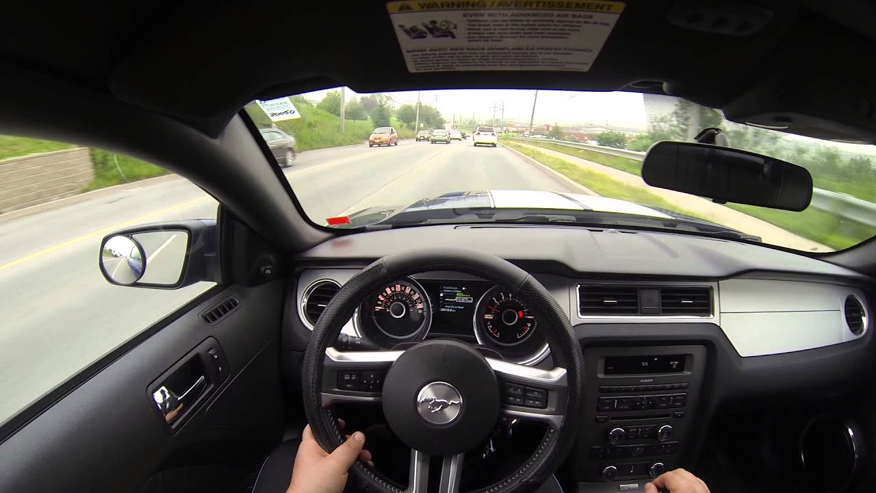 2013 Mustang Gt Pov Driving Youtube