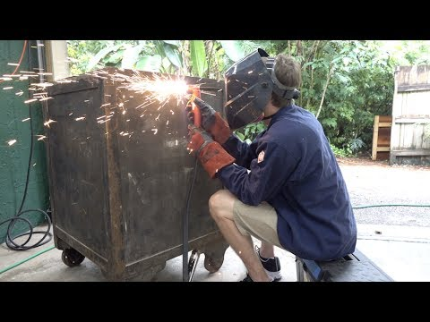 Thumbnail: Breaking into a massive 1000lb Safe with a Plasma Cutter