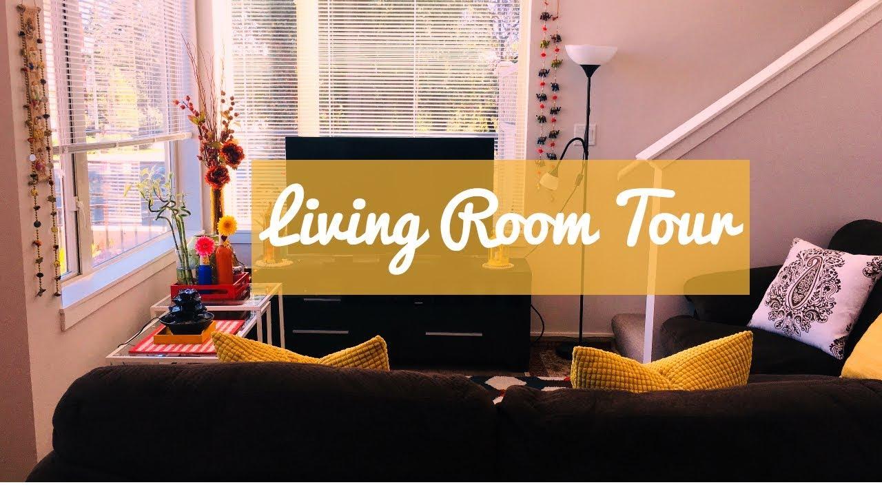 Living Room Tour I DIY Decor Ideas I How I decorate my House in Canada